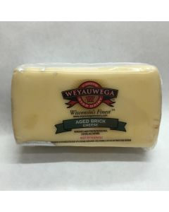 Aged Wisconsin Brick Cheese