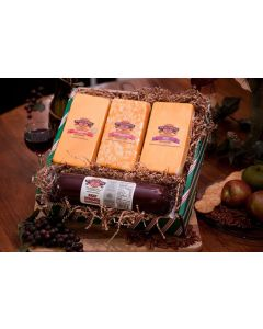Bases Loaded Wisconsin Cheese Gift Box