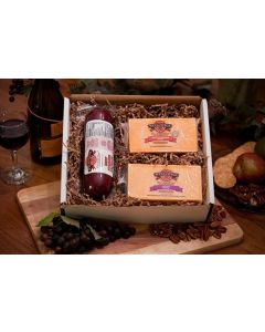 Simple Elegance Wisconsin Cheese Gift Box