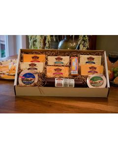 Taste of Wisconsin Cheese Gift Box