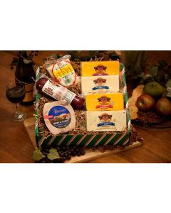Mr. Popularity Wisconsin Cheese Gift Box