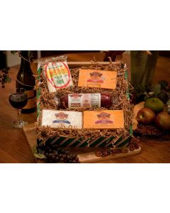 String Quintet Wisconsin Cheese Gift Box