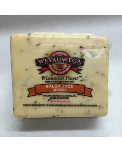 Wisconsin Salsa Jack Cheese