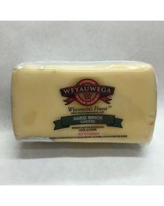 Aged Wisconsin Brick Cheese