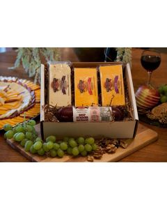 Pick Three Favorites Wisconsin Cheese Gift Box