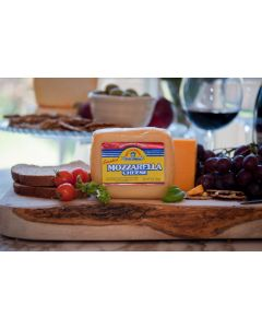 Smoked Wisconsin Mozzarella Cheese